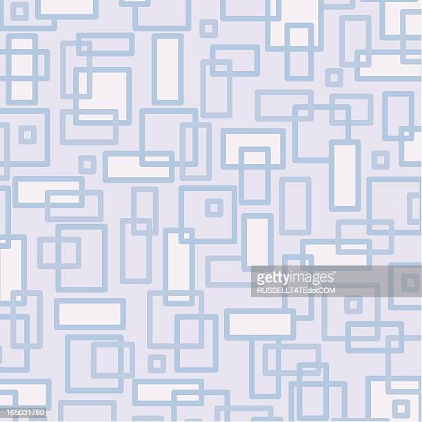 Retro-Muster mit Quadraten