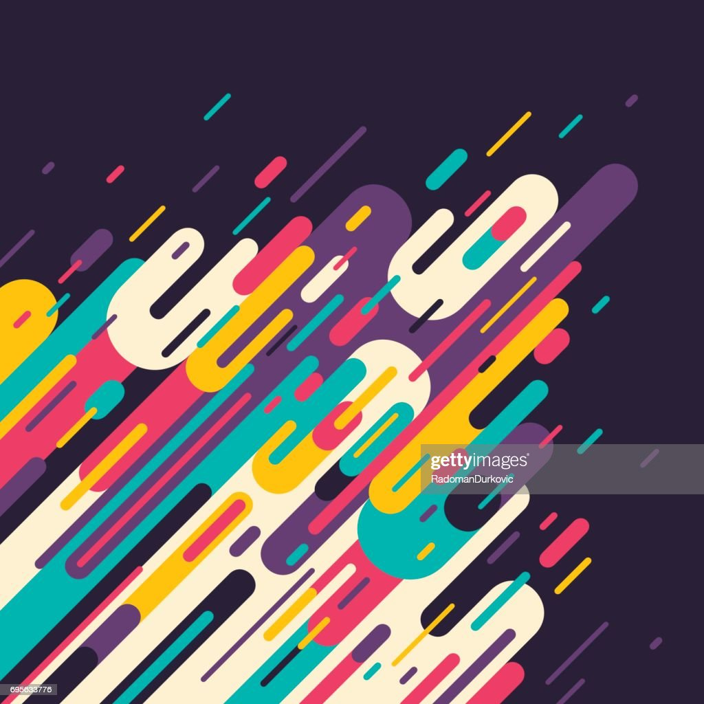 Retro style abstract background.