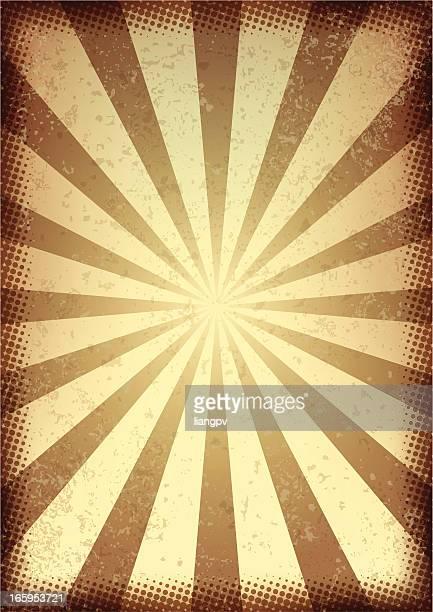 Rayo de sol Retro