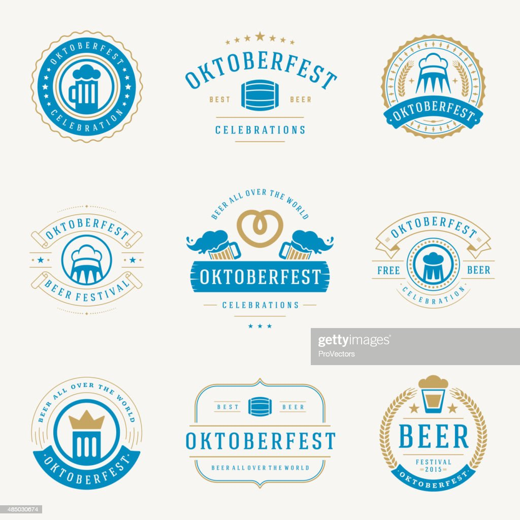 Retro style labels, badges and logos set