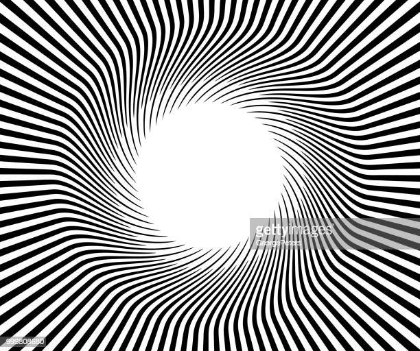retro style sunburst vector background - optical illusion stock illustrations