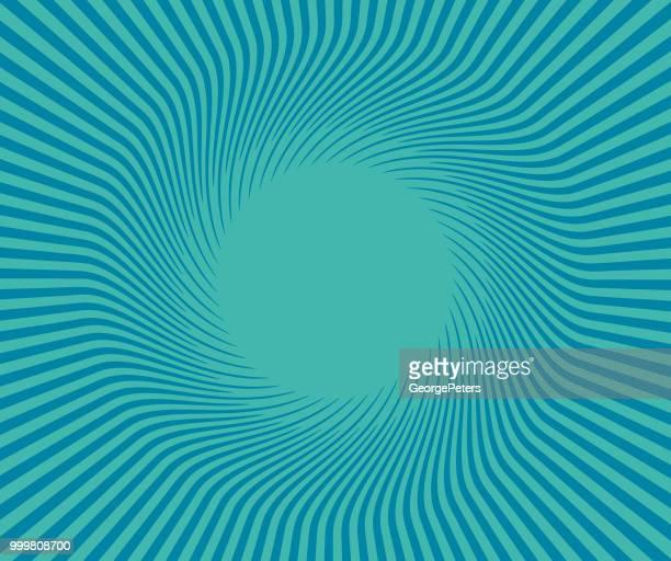 Retro Style Sunburst vector background
