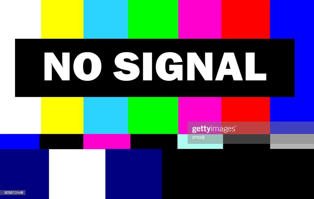 retro televison test pattern