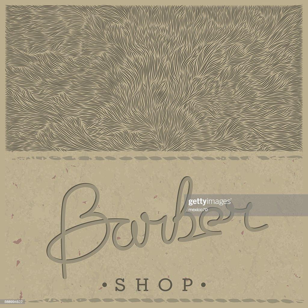 Retro template for Barber Shop