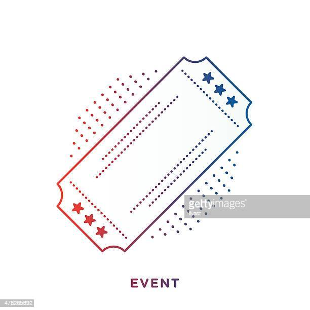 Retro-Ticket-Symbol