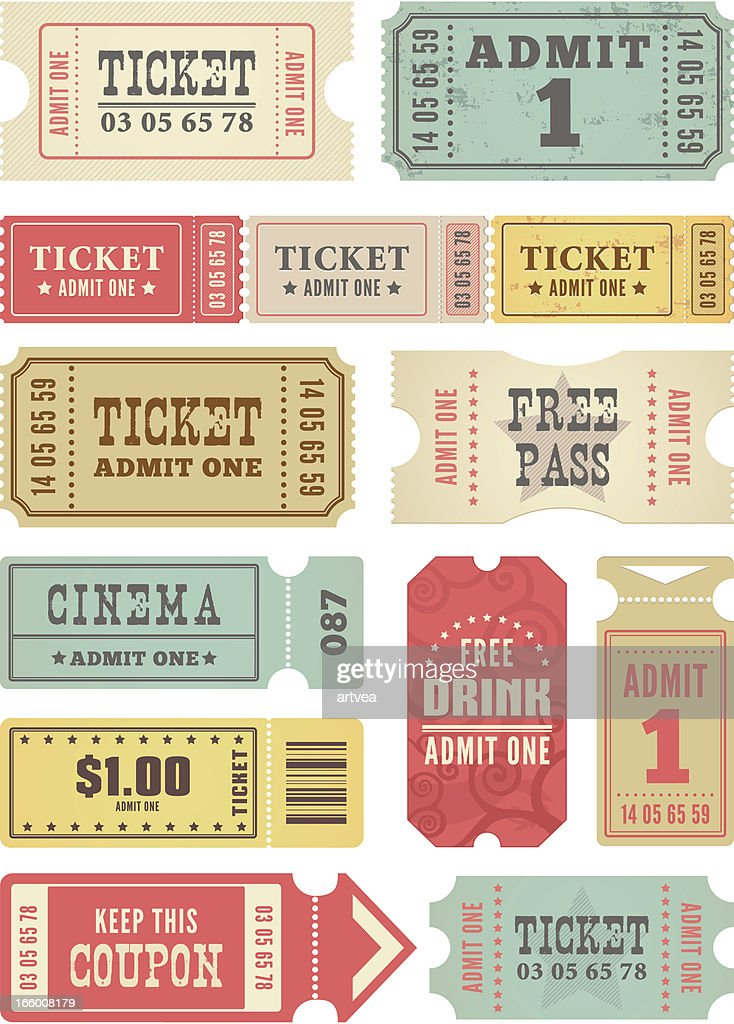Retro Tickets Collection
