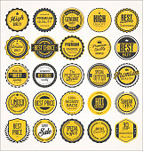Retro vintage badge