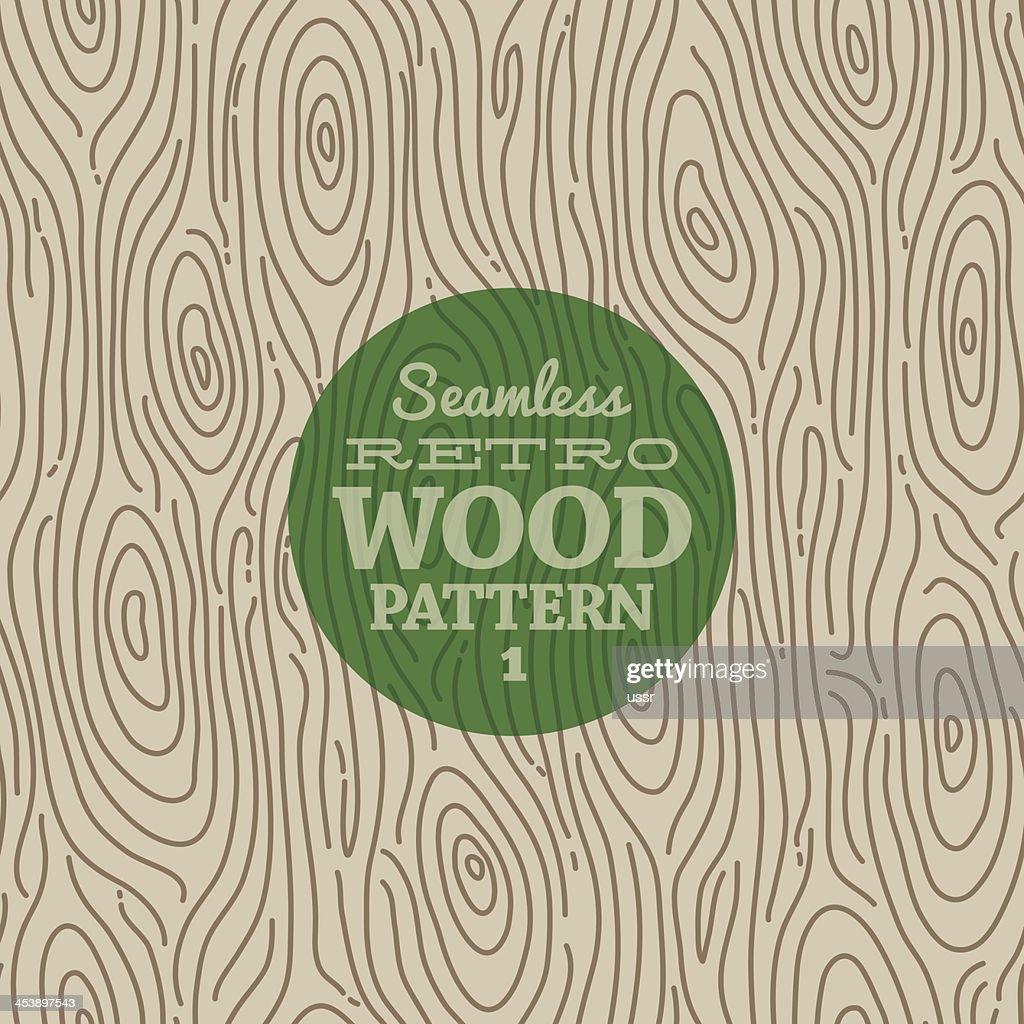 Retro wood seamless background