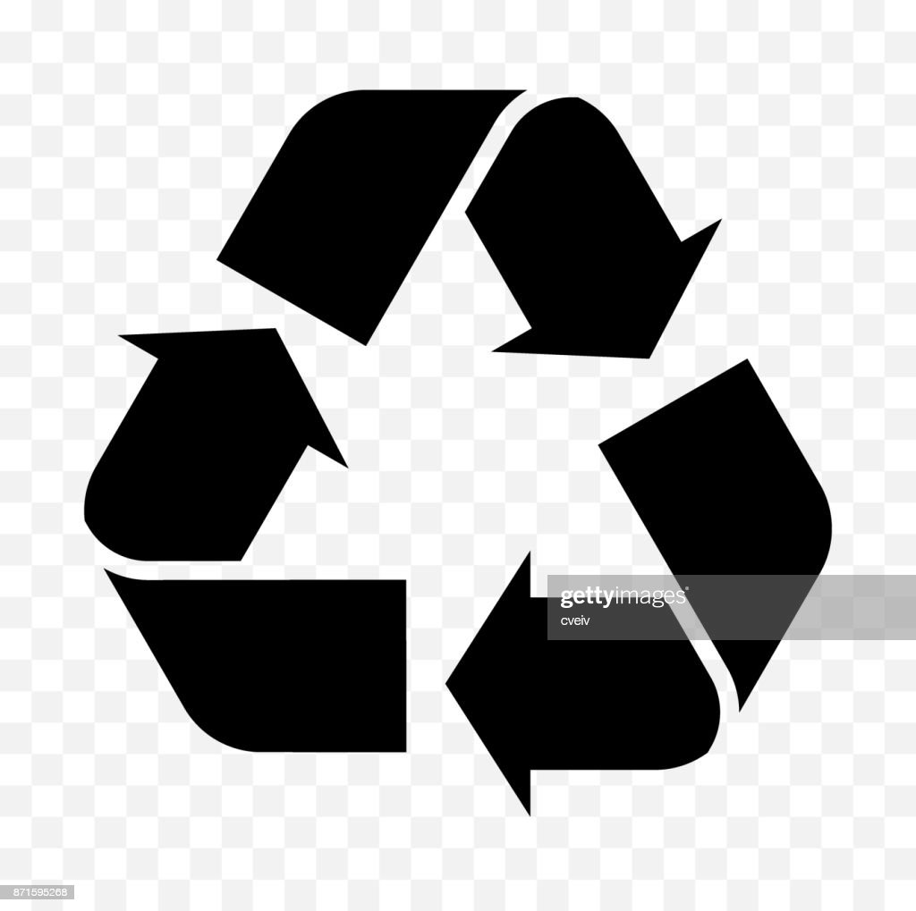 reuse, recycled icon