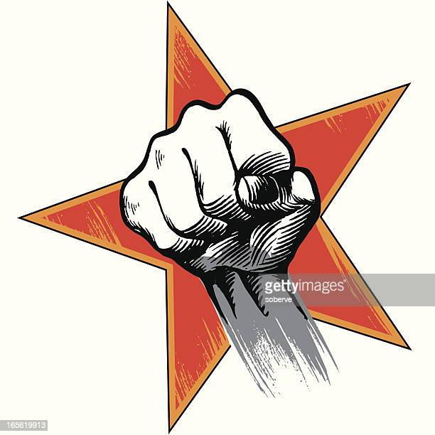 revolt - struggle stock illustrations