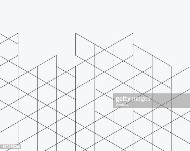 rhombus pattern background - rhombus stock illustrations