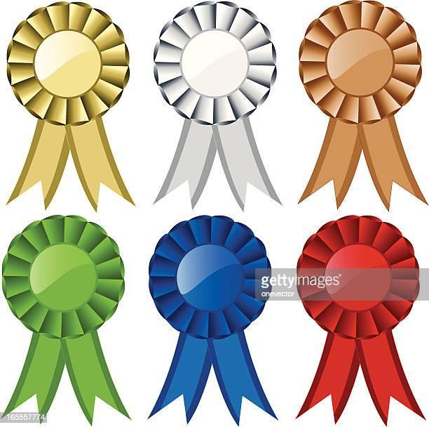 ribbon / award - great seal stock illustrations, clip art, cartoons, & icons