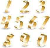 Ribbon number set