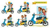 Riders couple