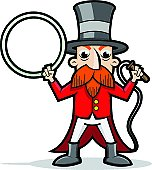 Ringmaster Cartoon - Circus / Carnival