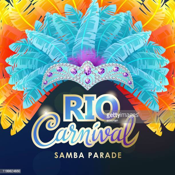 rio carnival - brazilian carnival stock illustrations
