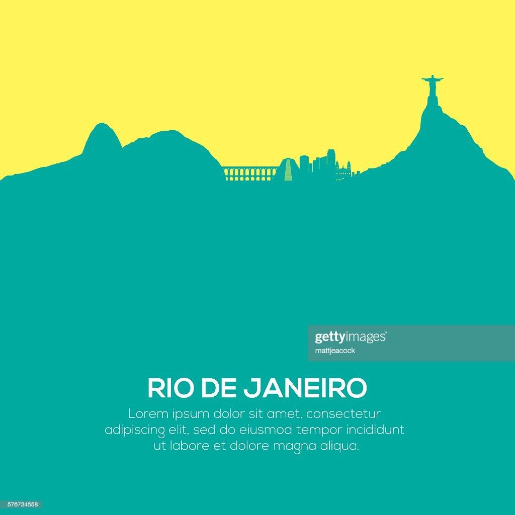 Rio De Janeiro skyline