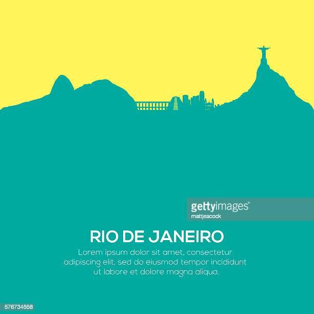 rio de janeiro-skyline - rio de janeiro stock-grafiken, -clipart, -cartoons und -symbole