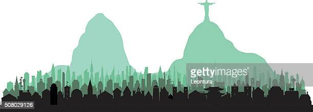 Rio De Janeiro (Each Building is Moveable and Complete)