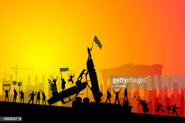 Riot in Greece- European Financial Crisis