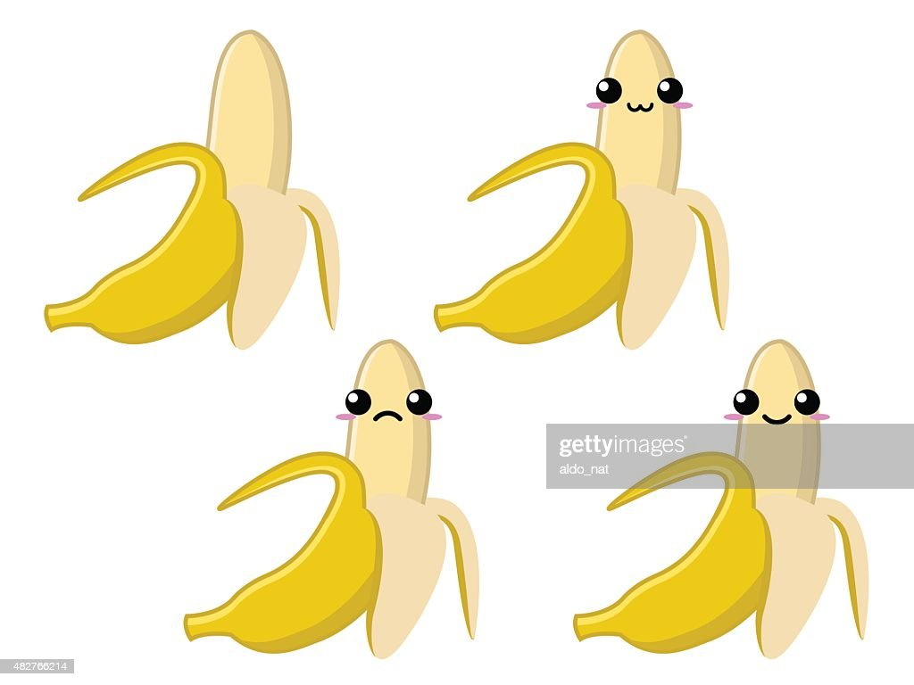 Ripe Banana Character