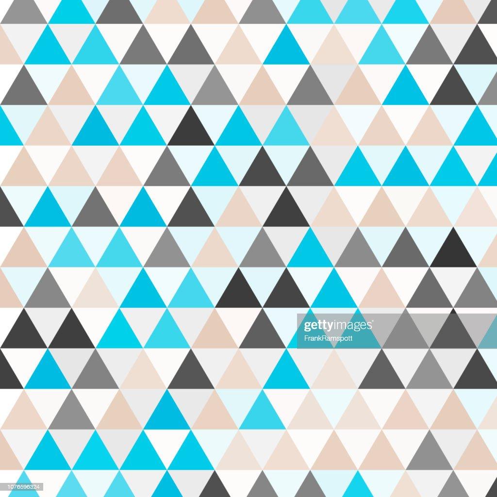 Fluss-Dreieck Vektormuster : Vektorgrafik