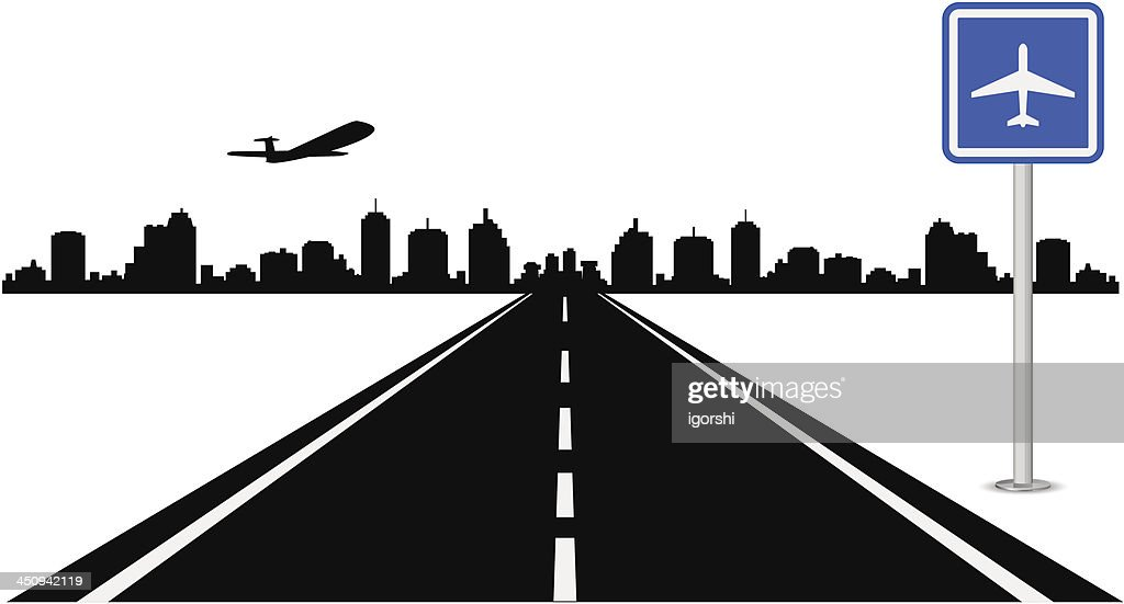 Road airport