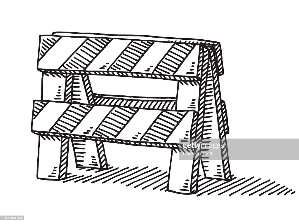https://media.gettyimages.com/vectors/road-block-barrier-drawing-vector-id499463163