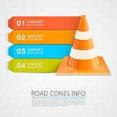 Road Cones info, Cones info numbers.