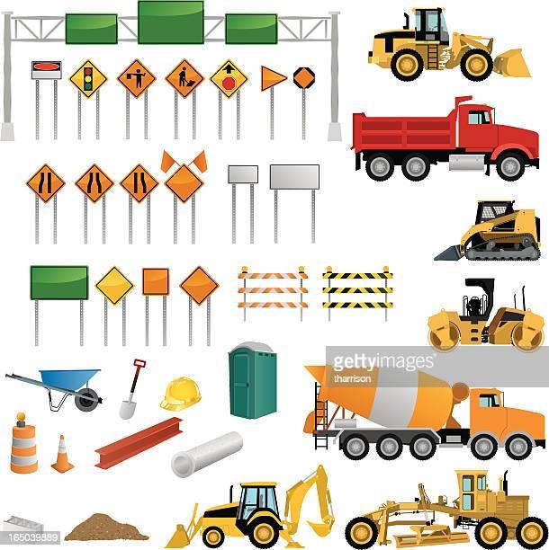 Kit de construção de estrada