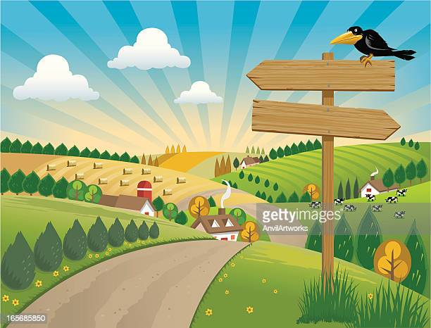 World's Best Country Road Stock Illustrations - Getty Images