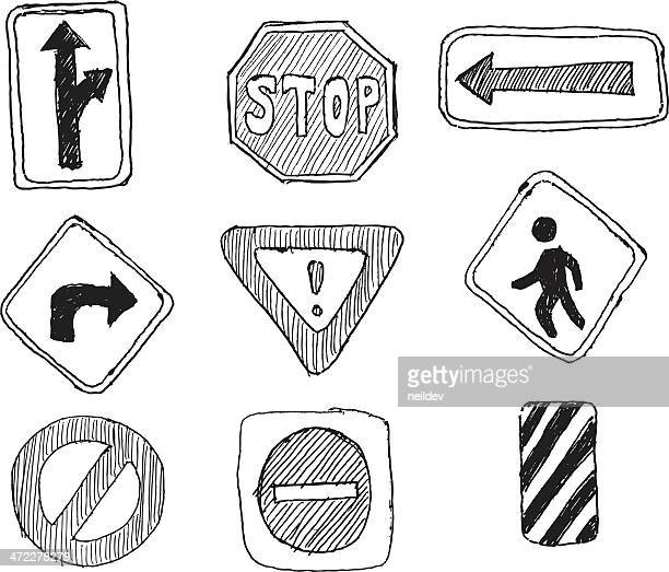 Road Sign sketches