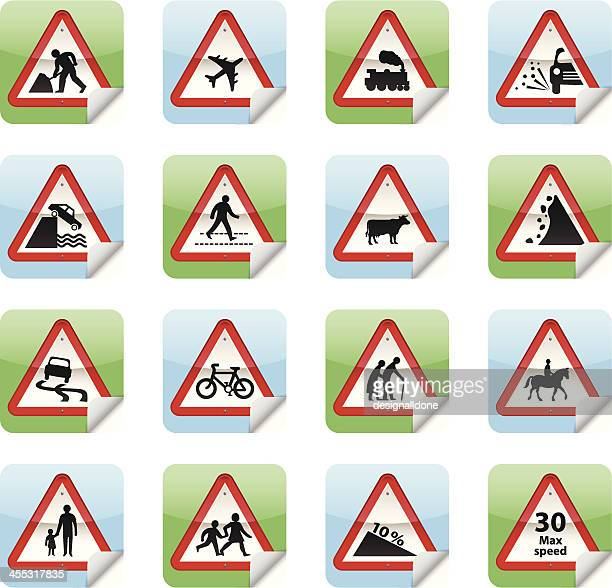 Road Sign Stickers