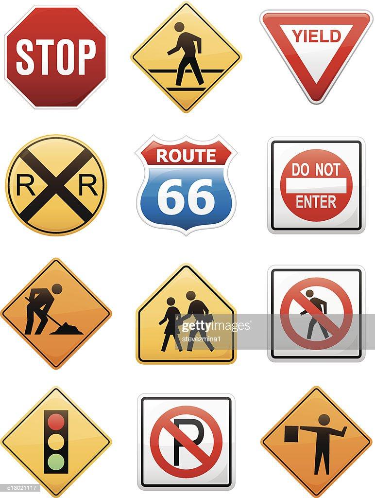 Road Sign Symbols