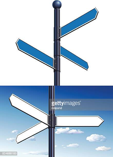 コンセプトの道路標識からお選びいただけます。 - 分かれ道点のイラスト素材/クリップアート素材/マンガ素材/アイコン素材