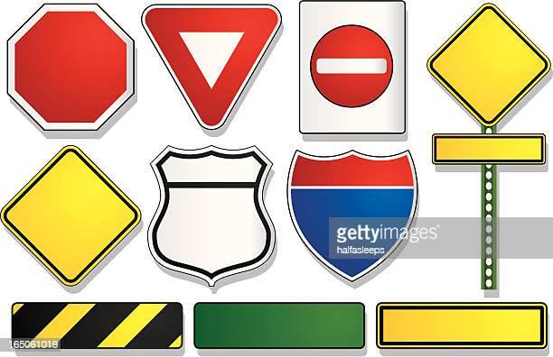 illustrations, cliparts, dessins animés et icônes de route les panneaux - panneau sens interdit