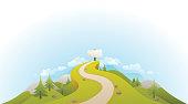 Road to Success Landscape