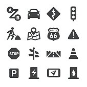 Road Trip Icons - Acme Series