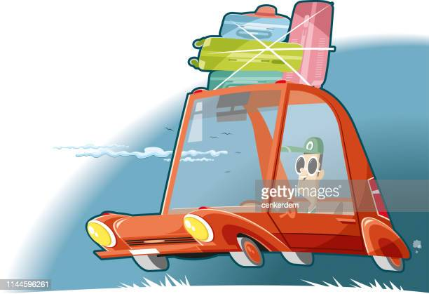 road trip - car ownership stock illustrations, clip art, cartoons, & icons