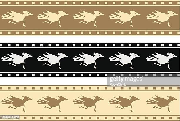 ilustraciones, imágenes clip art, dibujos animados e iconos de stock de correcaminos fronteras - correcaminos