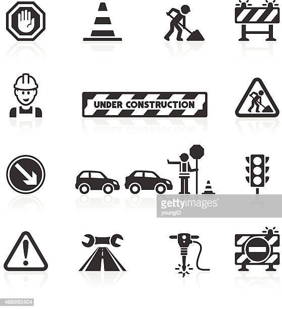 Roadworks icons