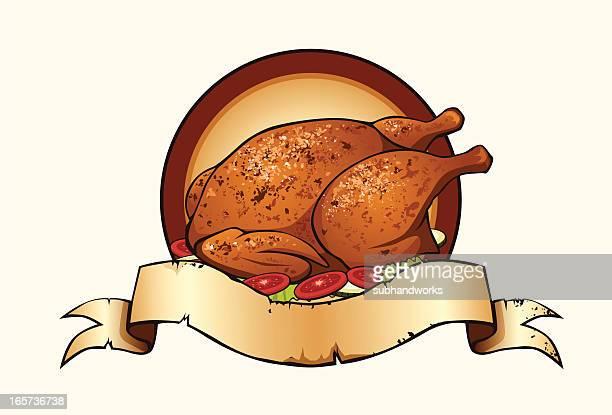 Illustrations et dessins anim s de poulet roti getty images - Dessin de poulet roti ...