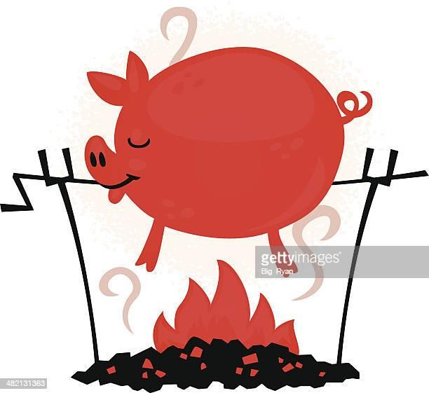 roasting pig