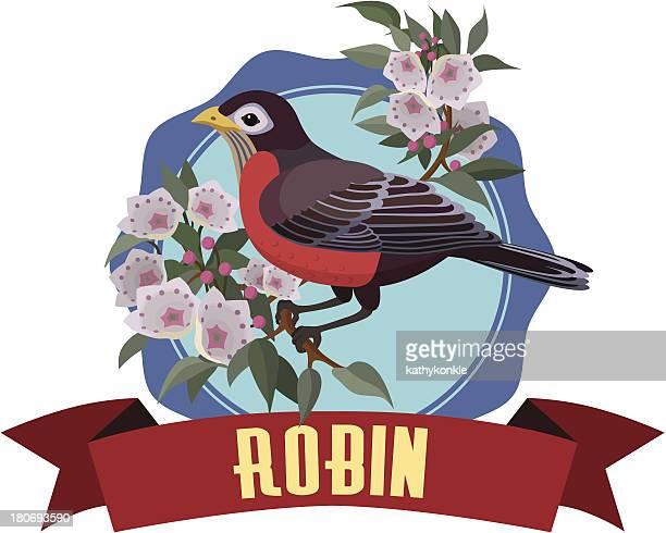 ilustrações, clipart, desenhos animados e ícones de robin - mel do louro da montanha
