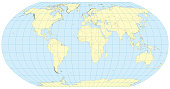 Robinson Map of the world