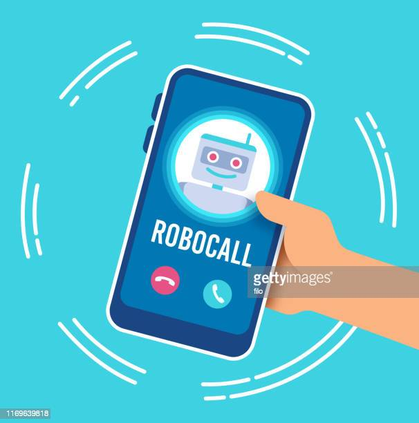 robocall telephone call - shaking stock illustrations
