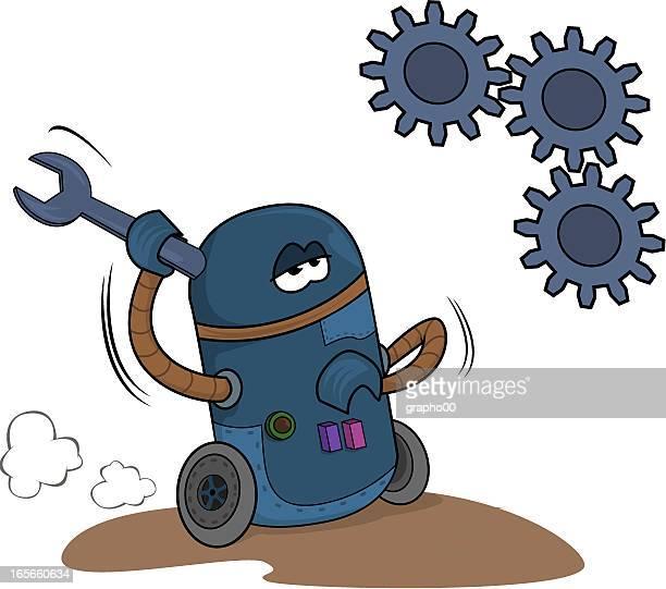 Robot and mecanics