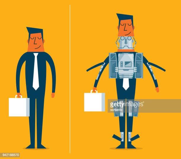 Robot - Businessman