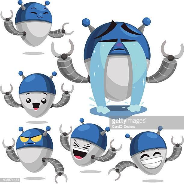 Robot Cartoon Set B