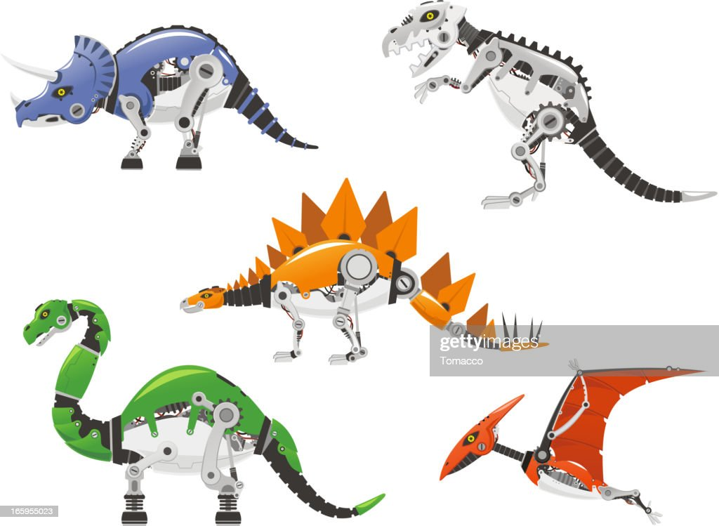 Robot dinosaurs cyborg Android Animals